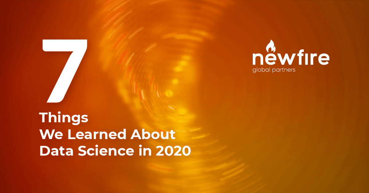 7 Things We Learned About Data Science in 2020