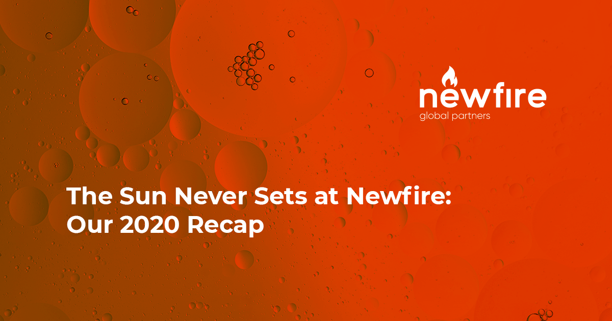 The Sun Never Sets at Newfire: Our 2020 Recap