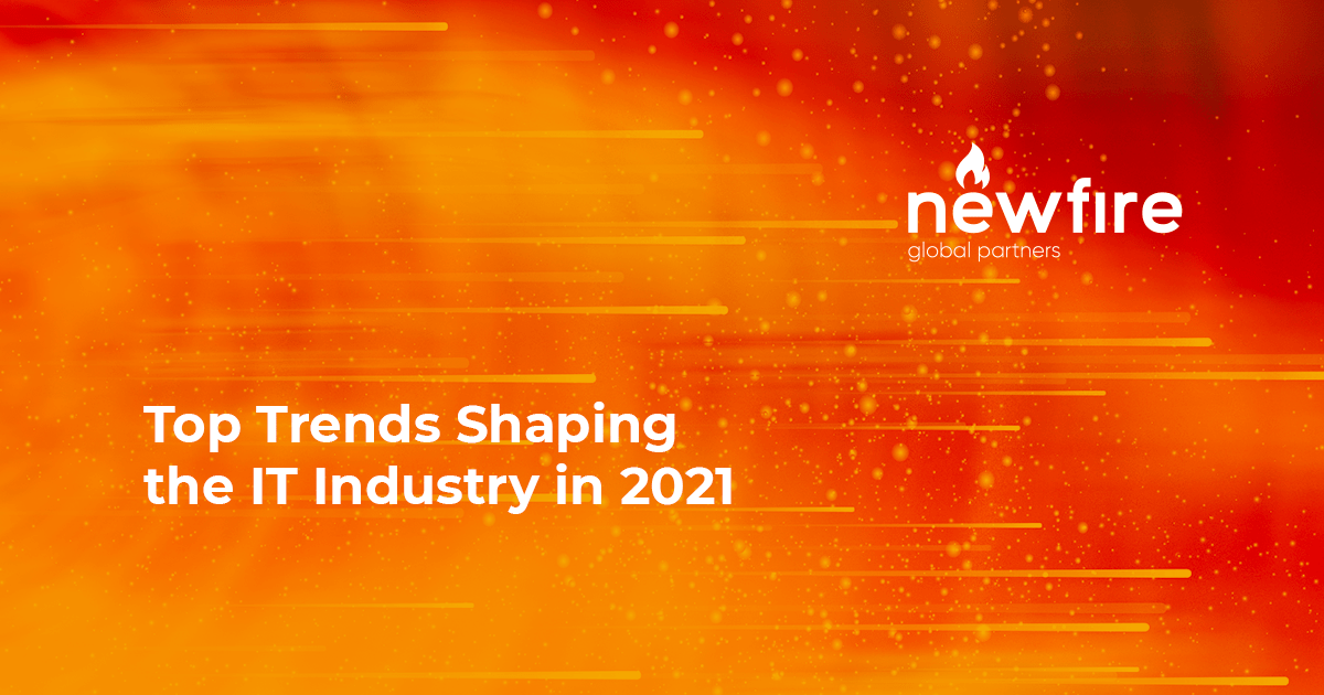 Top Trends Shaping the IT Industry in 2021